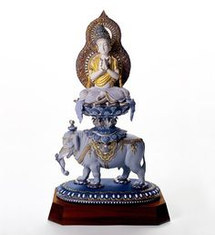 Buddha, Lladro  Wish I'd've been aware of my Buddhism when I lived in Spain & went to the Lladro factory in Valencia!