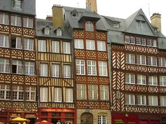 Rennes - a charming little French city that is home to our charming little friend Esther.