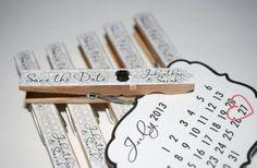 Unique Wedding Invitations: Calendar Save the Dates | OneWed