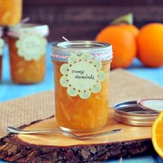 Orange Marmalade with Meyer Lemon—Super simple to make with great tips and option of a low sugar version