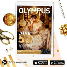 The new issue of Olympus magazine is here and its time to celebrate! As its our 50th digital issue were giving you the chance to win the ultimate prize; an OM-D E-M1 Mark II and an M.ZUIKO 12-40mm f/2.8 lens!   Weve also got an exclusive interview with photography legend @tonymcgeephotos who shares highlights from his career and thoughts on the PEN-F and OM-D E-M1 Mark II.   Aspiring and pro wedding photographers alike are spoilt for choice in this 50th issue with business tips from John…