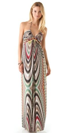 Tbags Los Angeles Halter Maxi Dress | SHOPBOP