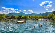 Camping aan het meer van Levico in Trentino, Noord Italie, uw perfecte vakantie!
