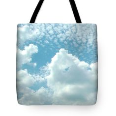 Cloud Tote Bag featuring the photograph Good Morning. by Nhi Ho Thi Xuan