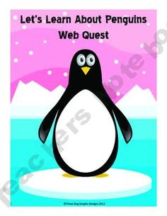 This one page web quest allows students to use their internet search and interpretation skills to learn more about penguins.