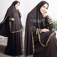 Gamis Syar'i Cantik Sabilah Hijab Collection, Hijab Tutorial, Hijab Chic, Abaya Fashion, Mode Hijab, Pakistani Outfits, Couture, Prom, Womens Fashion