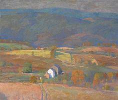 Daniel Garber (American, 1880-1958), Corn, 1937.