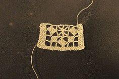 Puncetto needle lace