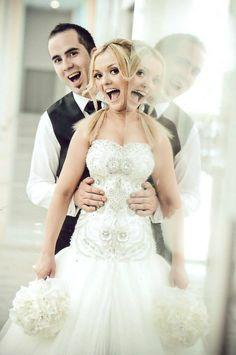 great #wedding #photo idea