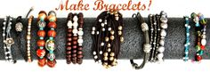 bracelet tutorials....lots of ideas.