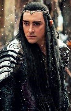No sindar grey elf ever had black hair.... But BOY it looks cool!