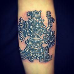Quetzalcoatl Aztec God Tattoo Aztec god tattoo for arm