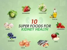 10 Superfoods for Kidney Health