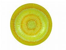 Higgins Art Glass Bowl WWW.JJAMESAUCTIONS.COM