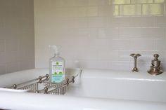 black white grey guest bath - Google Search