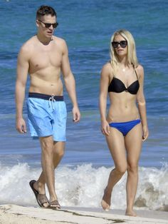 Pin for Later: Jason Kennedy and Lauren Scruggs Bring Their Newlywed Bliss to the Beach!