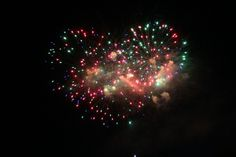 Heart of firework