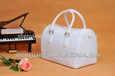 2016 Ebay hot sale colorful pvc handbag useful ladies bag high quality women bag online shopping