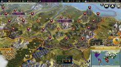 Civ V - Warmongering is fun