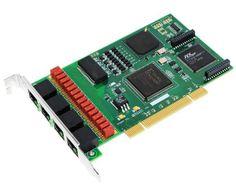 Allo 4 Port PRI CARD + LEC (PCI & PCIe) Asterisk E1/PRI Cards