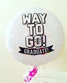 Way to Go Grad Balloon Grad Balloons Graduation by girlygifts07