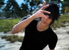 Noctis being silly for Prompto's photo Final Fantasy Xv, Fantasy Series, The Sims, Ff Game, Kingdom Hearts Characters, Noctis Lucis Caelum, Sasuhina, Life Is Strange, Persona 5