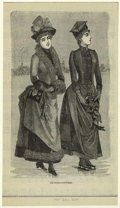 §§§ : Skating-Costumes : 1889