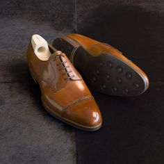 Pictoturo - mydayshoes:   Wanted Dainite sole by Saint Crispin...
