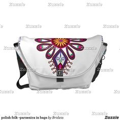 polish folk -parzenica in bags messenger bag