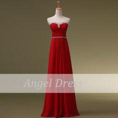 Long Prom Dress /Prom Dresses/ Elegant Evening by angeldress2014, $109.00