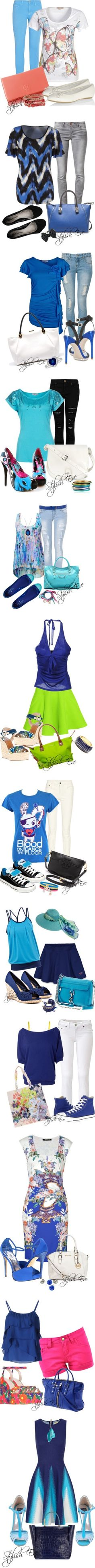 Blue Spring/ Summer 2013 Outfits for Women by Stylish ...