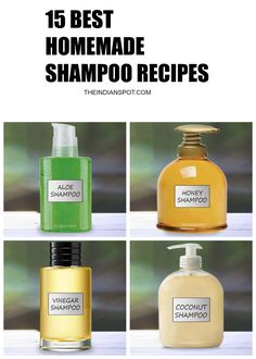 Best Homemade Natural Shampoo Recipes for Healthy Hair - THEINDIANSPOT - Page 2