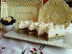 Osztrák királynő, Sissi sütije Patisserie Design, Cake Bars, Cakes And More, Vanilla Cake, Delish, Food Porn, Food And Drink, Dessert Recipes, Sweets