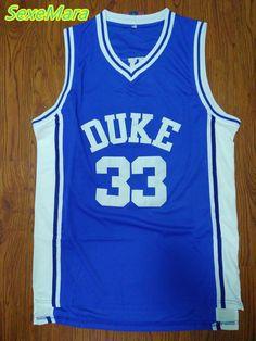 80df7a7040de SexeMara DUKE Blue 33 Grant Hill Jersey Stitched College Basketball Jerseys  Mens Cheap Throwback Jersey Retro
