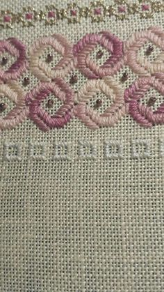 Ivana Carvalho Pinheiro's media content and analytics Hardanger Embroidery, Learn Embroidery, Ribbon Embroidery, Cross Stitch Embroidery, Embroidery Patterns, Cross Stitch Patterns, Crochet Patterns, Bargello Needlepoint, Needlepoint Stitches