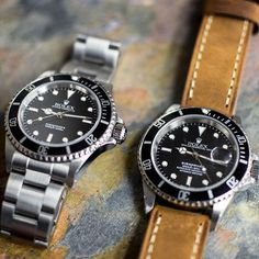 Leather strap or bracelet? Date or no date? How do you prefer your Sub?