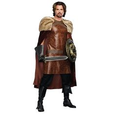 Be the strong ruler of your kingdom and save your people from dragon attacks with this Dragon Warrior King Costume! This Warrior King Costume consists of a Game Of Thrones Halloween, Game Of Thrones Costumes, Viking Cosplay, Pirate Cosplay, King Costume, Warrior Costume, Dragon Costume, Warrior King, Dragon Warrior