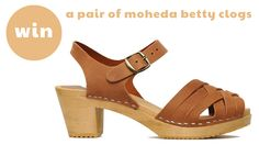 Tigerlilly Quinn: Win! A pair of Moheda Betty clogs