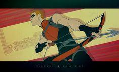 YJ - Red Arrow bad.ass by OlgaUlanova.deviantart.com on @DeviantArt