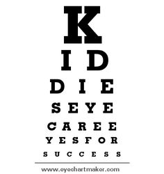 Kiddies eye care custom eye charts  Every little Einsteins secret to success is an eye test.  #einsteins  Is your child already tired after #school ? Have your children's eye health, function and vision tested to give them the best chance at learning success in their school year.  #school  #childrensoptometrist #kidsoptometrist #paediatric #kids #eye #optometrist #eyetest #eyesforsuccess