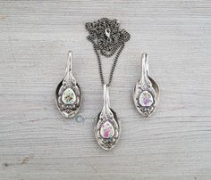 Upcycled Spoon Pendant