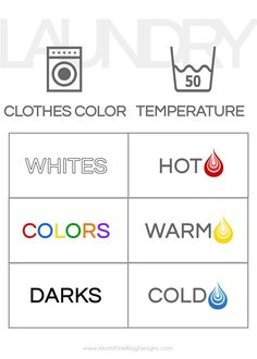 #printable #settings #remember #machine #washing #laundry #laundry #laundry #learn #teach #handy #your #kids #what #theyTeach Your Kids How To Do Laundry Do you kids need to learn how to do laundry? Hang this handy free printable in the laundry room so they can remember what settings to use on the washing machine!Do you kids need to learn how to do laundry? Hang this handy free printable in the laundry room so they can remember what settings to use on the washing machine! Doing Laundry, Laundry Hacks, How To Sort Laundry, Laundry Rooms, Laundry Sorting, Laundry Area, Laundry Closet, College Hacks, College Dorm Rooms