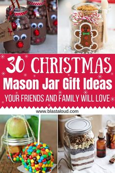 Mason jar gifts for