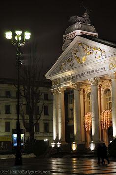 Ivan Vazon National Theatre--Sofia, Bulgaria by whitney-bg, via Flickr