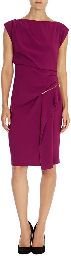 Womens berry dress from Coast - £49 at ClothingByColour.com