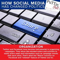 #Socialmedia is absolutely perfect for helping #political parties organize their #activists and #followers. And you thought it was just for #teens! #Puttinout #MiamiMedia http://www.puttinout.com/
