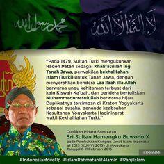 . Hubungan antara Khilafah Turki Utsmani dengan Nusantara ada akar sejarahnya bukan ahistoris.  Kini kesadaran untuk bangkit itu kembali digelorakan oleh umat Islam termasuk dengan mengibarkan bendera dan panji Rasulullah (al-liwa dan ar-rayah) di seluruh penjuru dunia.  Kemudian akan ada khilafah yang mengikuti tuntunan kenabian. (HR.Ahmad)  Follow  @IndonesiaBertauhid Follow  @IndonesiaBertauhid Follow  @IndonesiaBertauhid .  Kiriman @donifinaldi #IndonesiaMoveUp #MoveUp…