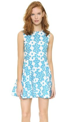Diane von Furstenberg Jeannie Dress | A summer favorite...the fabric is light and comfortable and the print is bold and classic. Love.