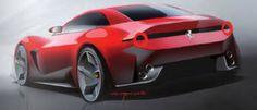 Ferrari California Sketch
