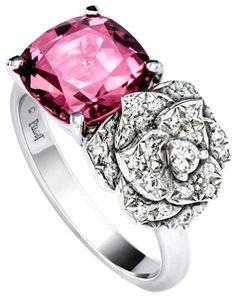 New Piaget Rose Ring. Beautiful!!
